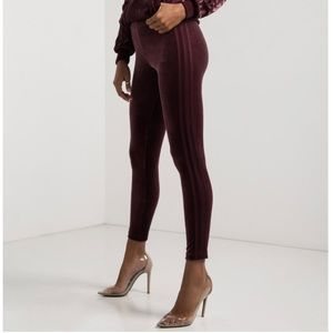 1fdc74c802e02 adidas Pants | Velvet Vibes Leggings Maroon Xl | Poshmark